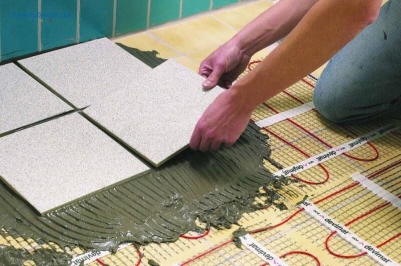електрична тепла підлога під плитку