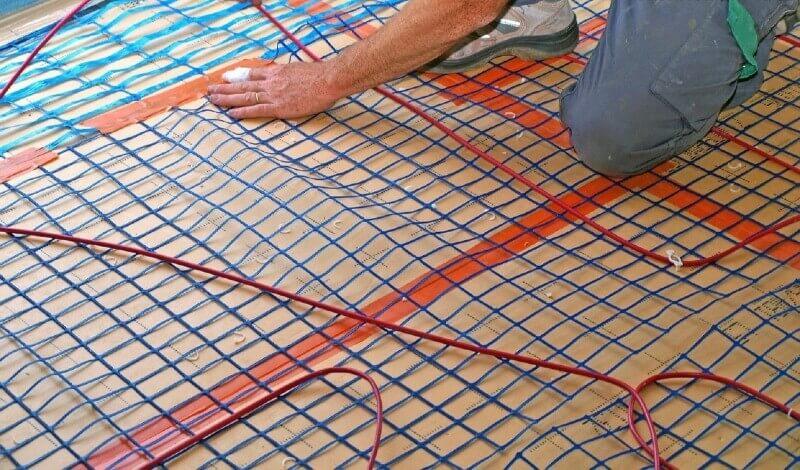 кабельні теплі підлоги