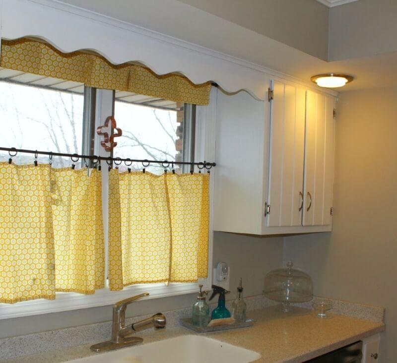 шторы кафе на кухню