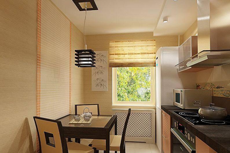 шторы на кухню восточный стиль