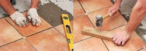 укладка плитки пошаговая инструкция