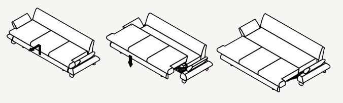 диван кровать пума