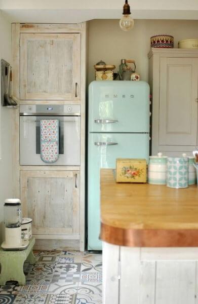 кантрі і скандинавський стиль на кухні