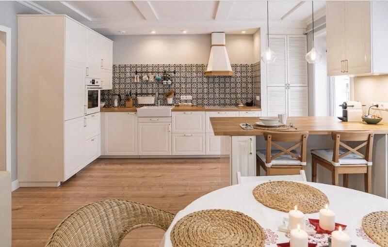 Скандинавський і Еко стиль кухня