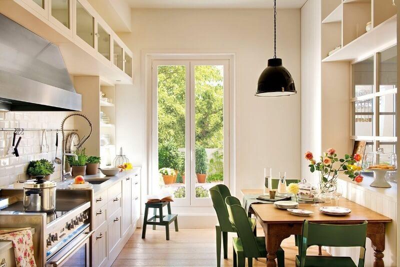 зелена скандинавська кухня