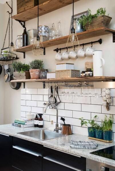 посуд в скандинавської кухні