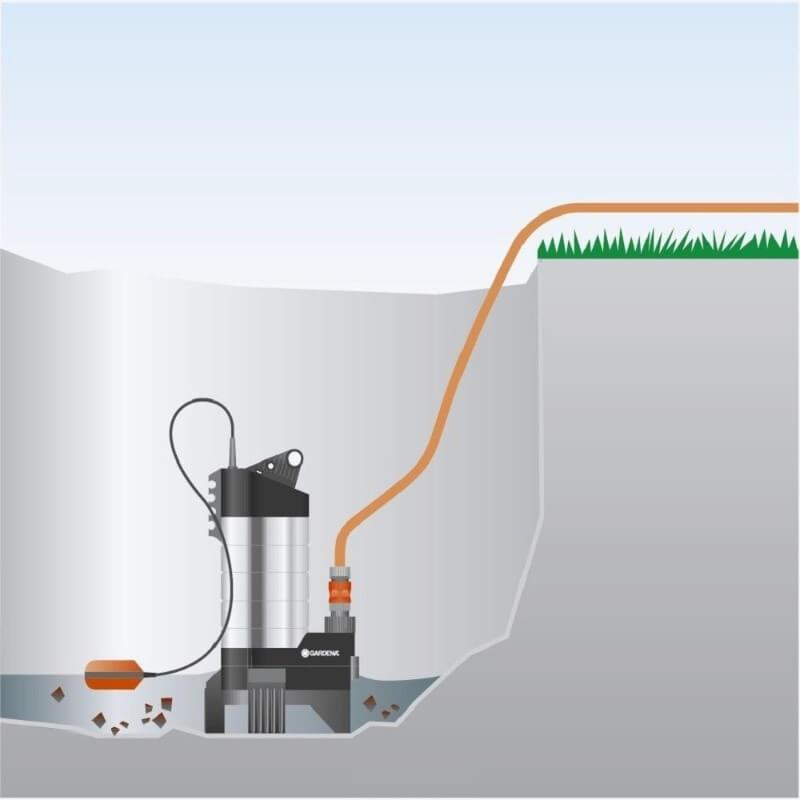принцип работы поверхностного дренажного насоса