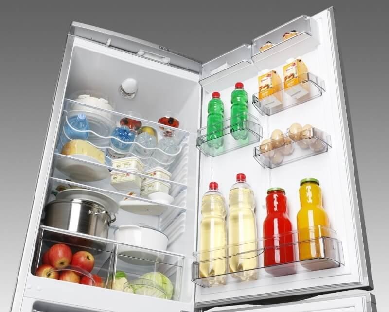 Размер и объем холодильника