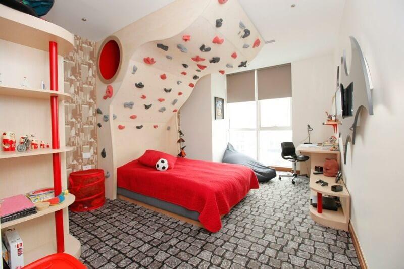 варианты оформления детской комнаты для мальчика