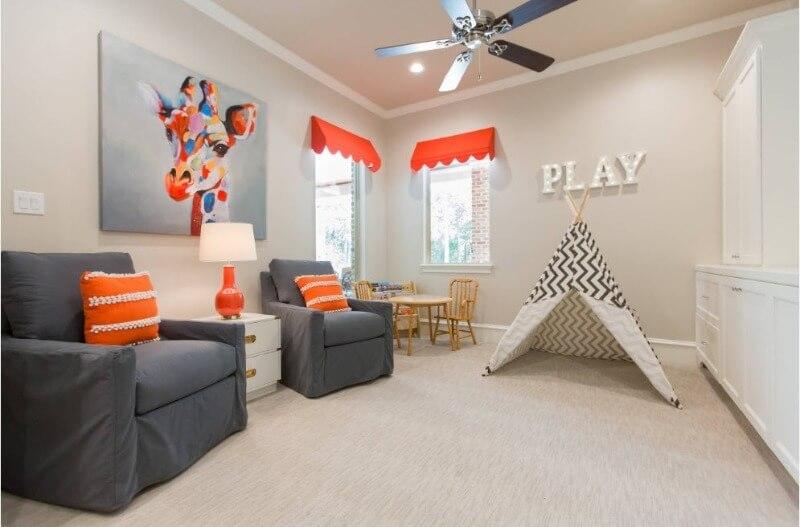 інтер'єр кімнати для малюка до 3 років