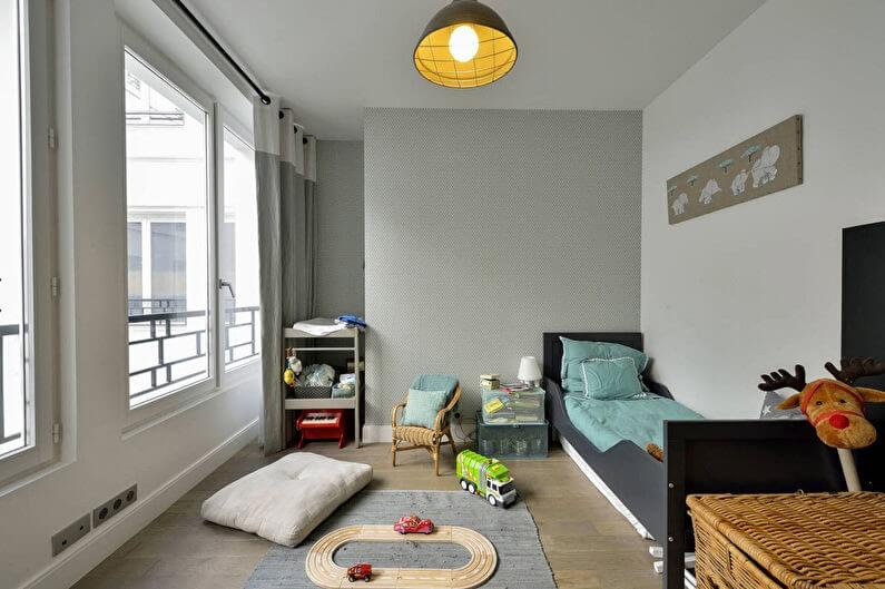 маленька дитяча кімната для хлопчика