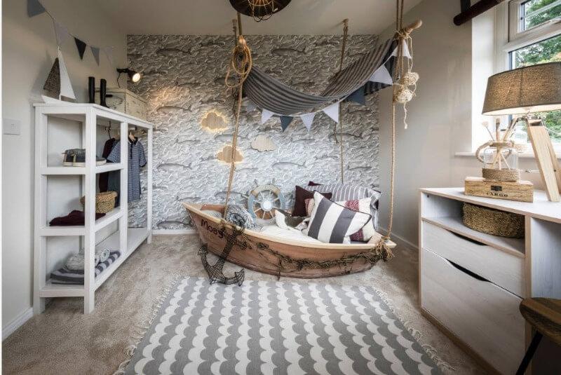 меблі із натуральних матеріалів в дитячій