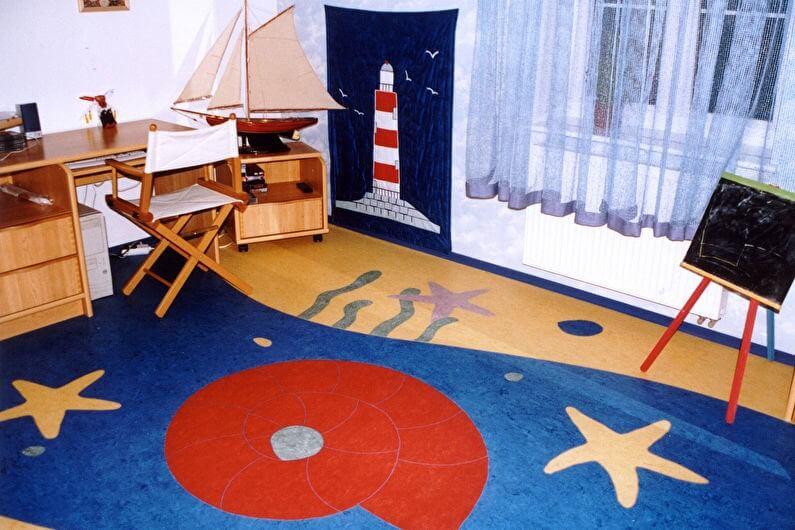 пробкове покриття в дитячій