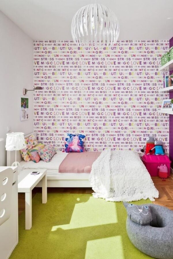 интерьер детской комнаты для девочки 3-5 лет