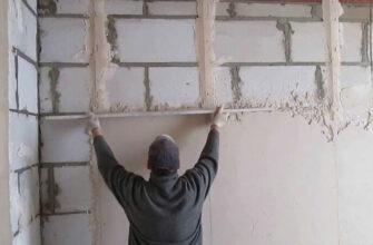 как выровнять стены