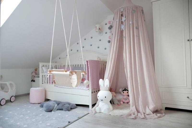 детская комната девочки до 3 лет