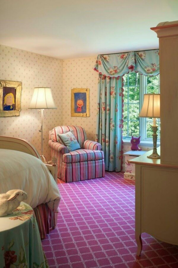 кімната дитяча для дівчинки прованс