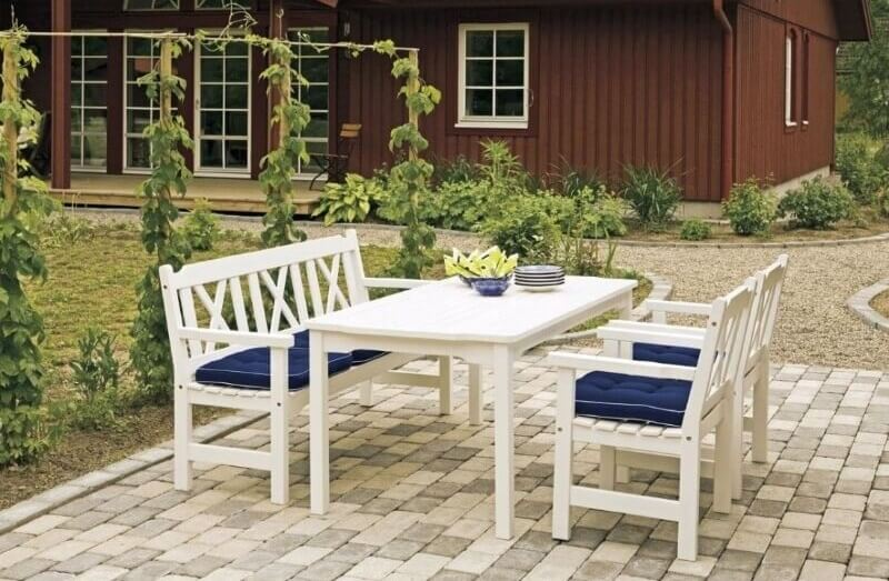 мебель для сада в стиле прованс
