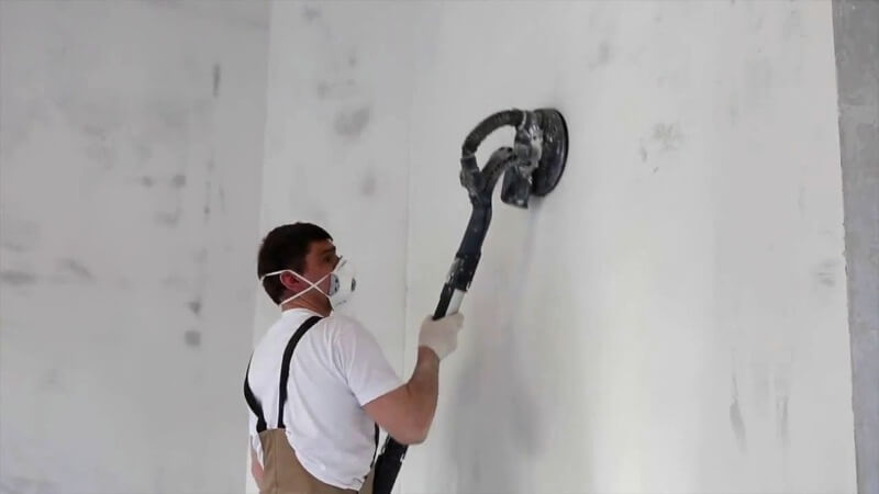 очистка стен перед шпаклевкой