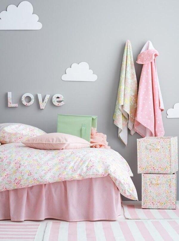 серый дизайн детской комнаты