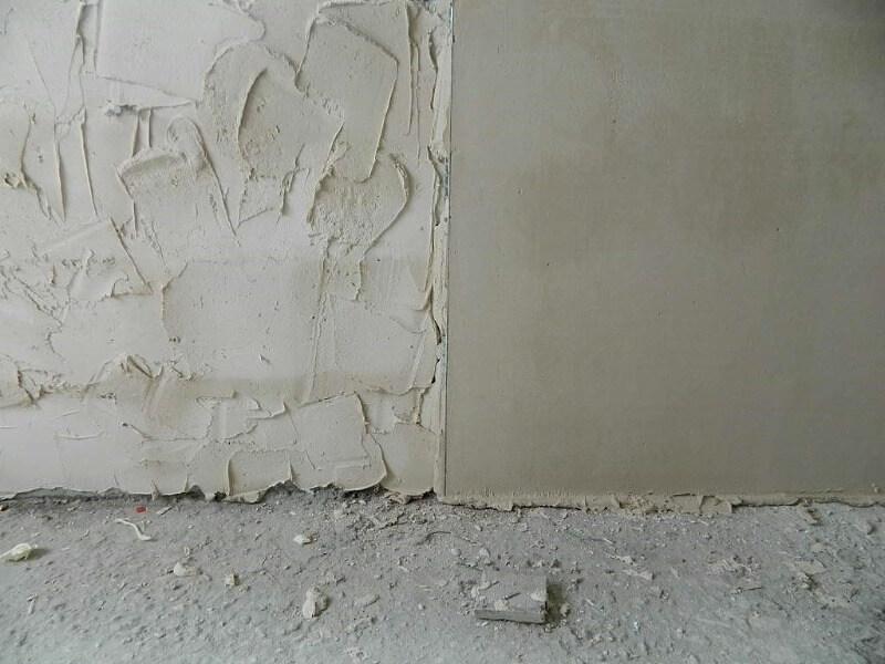 вологе вирівнювання стін