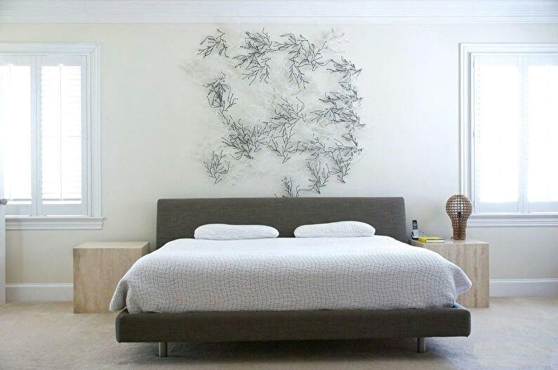 дизайн спальні мінімалізм