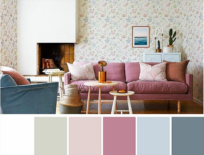 поєднання кольорів вітальня
