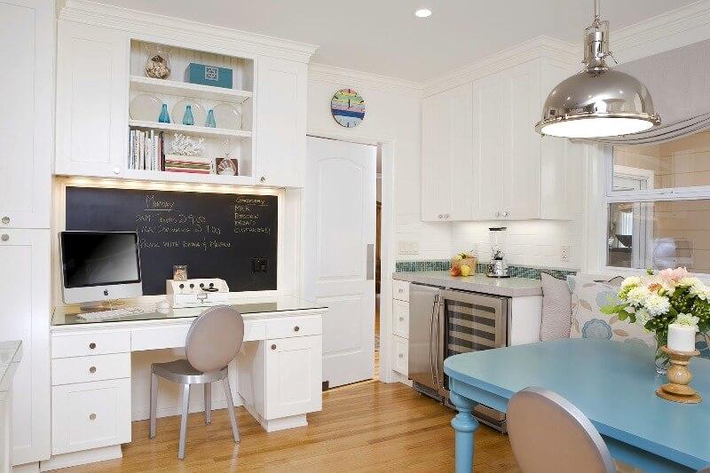 кухня с рабочей зоной