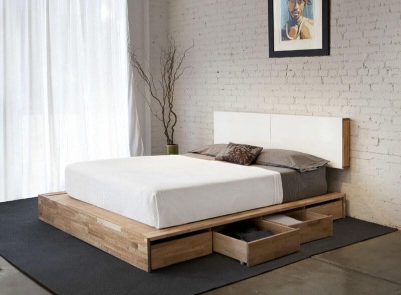 спальня мінімалізм