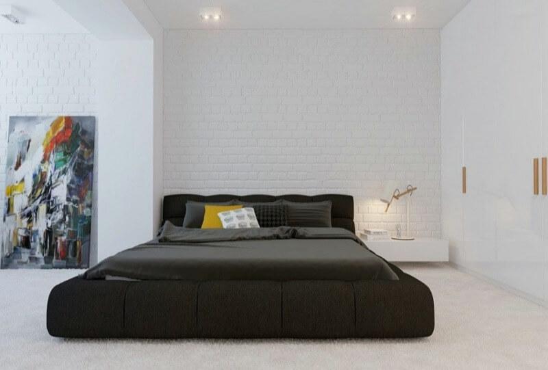 сучасне оформлення спальні мінімалізм