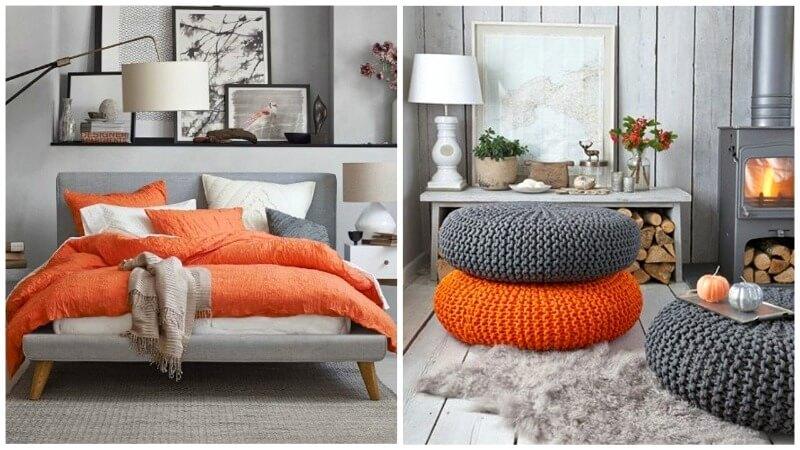 помаранчевий декор в інтер'єрі