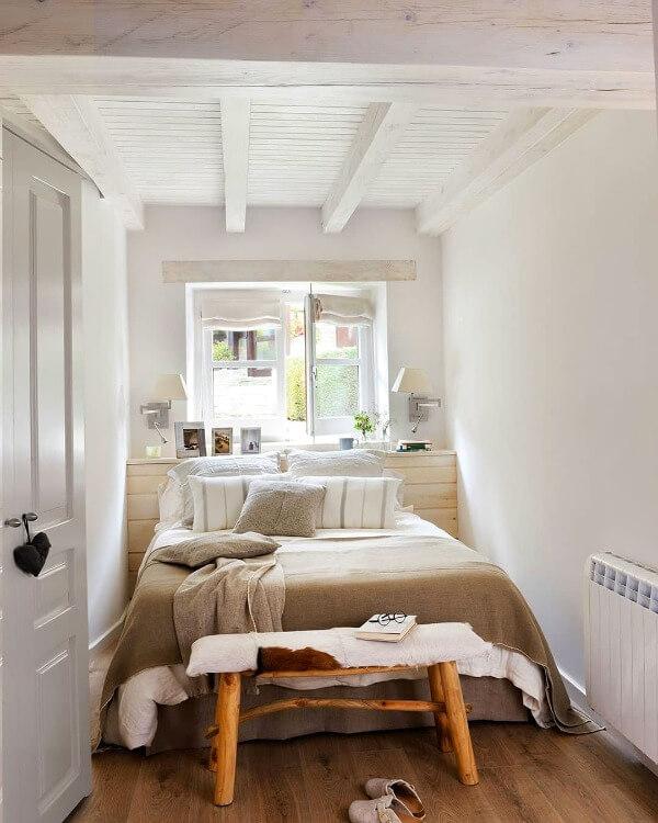 скандинавская маленькая спальня