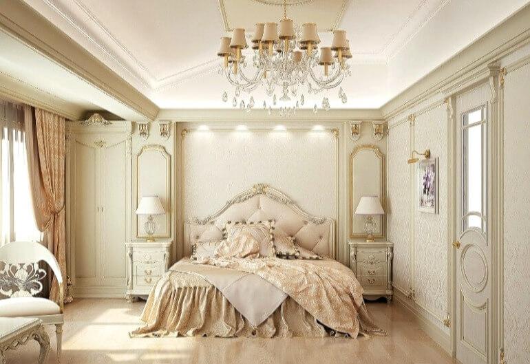 спальня класика дизайн
