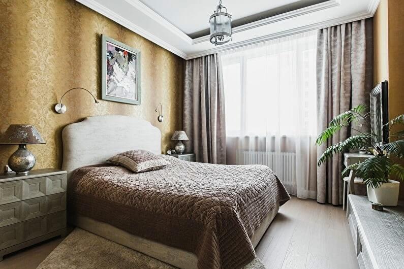 дизайн спальні класичний стиль