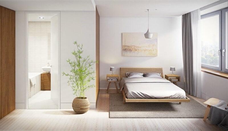 спальня дизайн мінімалізм