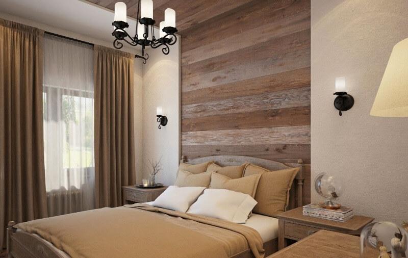 спальня еко стиль