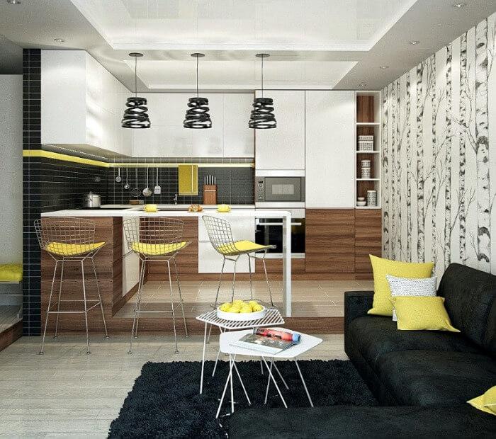 кольорова гама кухня