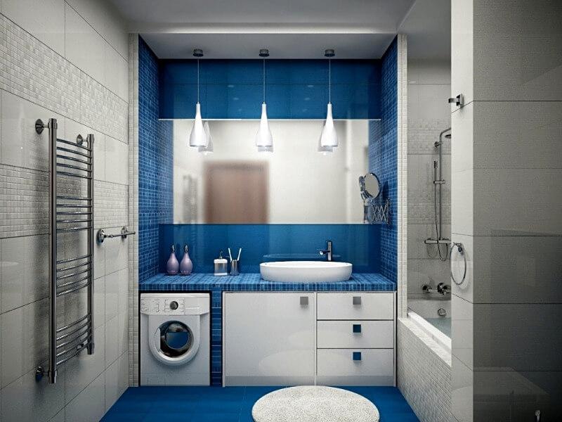 ванна кімната поєднання кольорів