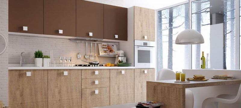 Дизайн кухні студії