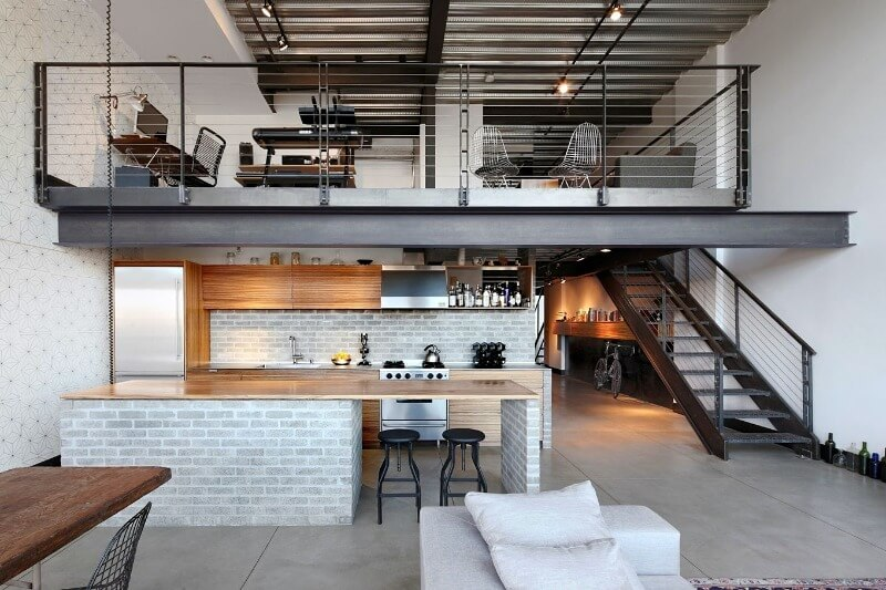 кухня-студия плюсы