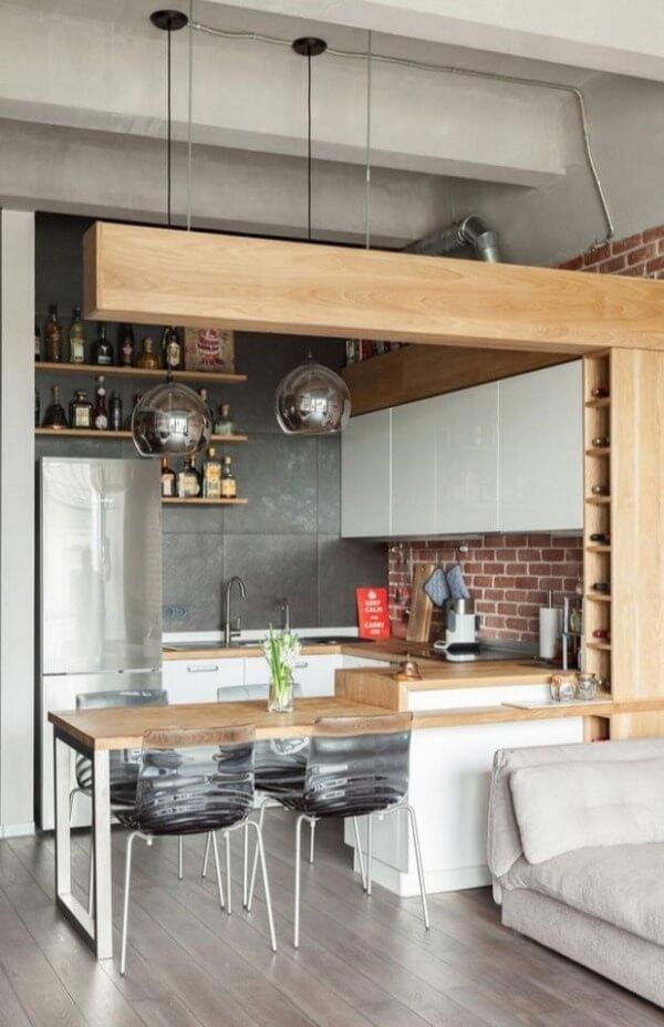 кухня лофт студія