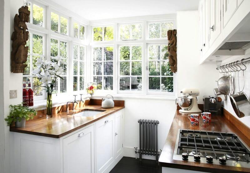 маленькая кухня 6 метров
