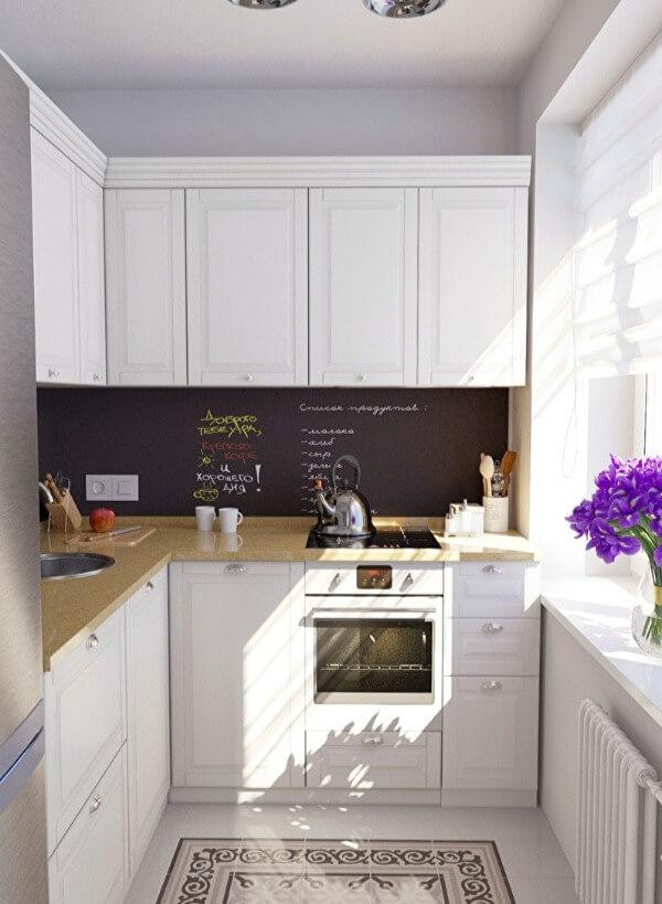 маленькая кухня пол