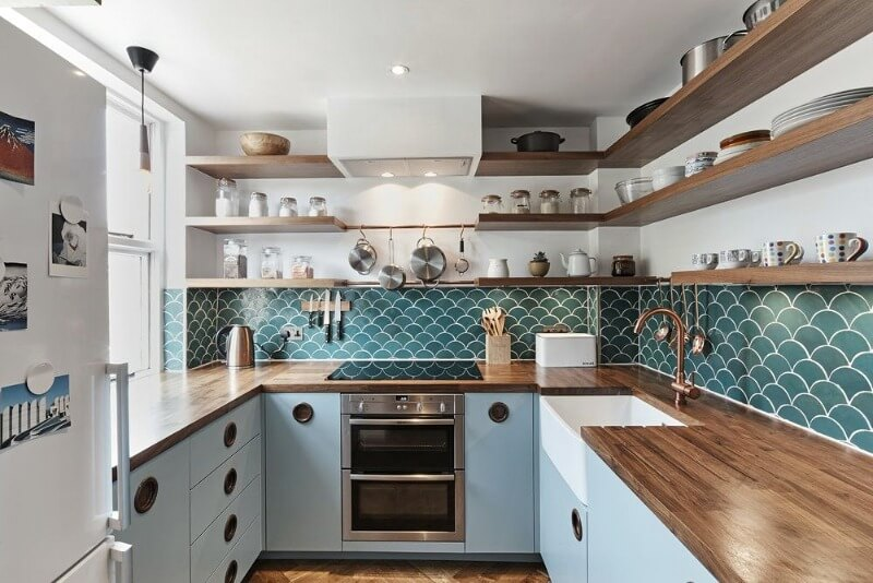 оформления кухни 6 кв. м