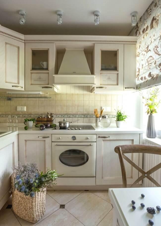біла кухня прованс