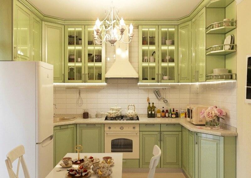 Кухня в стиле прованс – особенности оформления интерьера