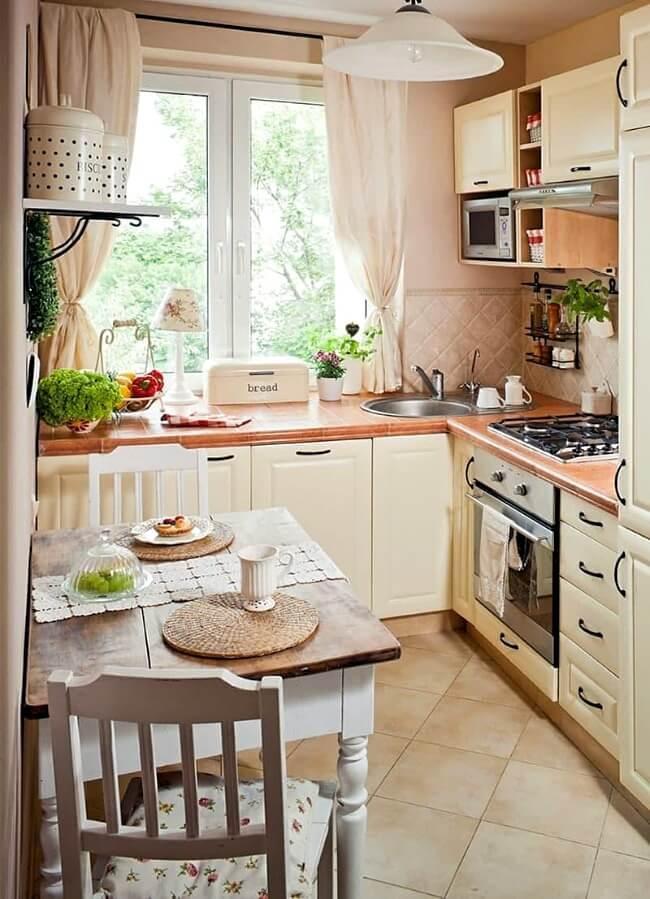 кухня маленька в стилі прованс