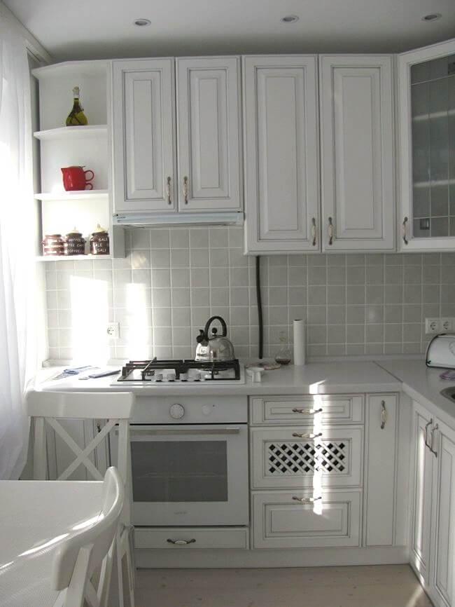 меблі на кухні в стилі прованс