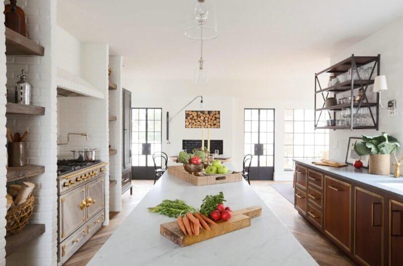 кухня освітлення прованс
