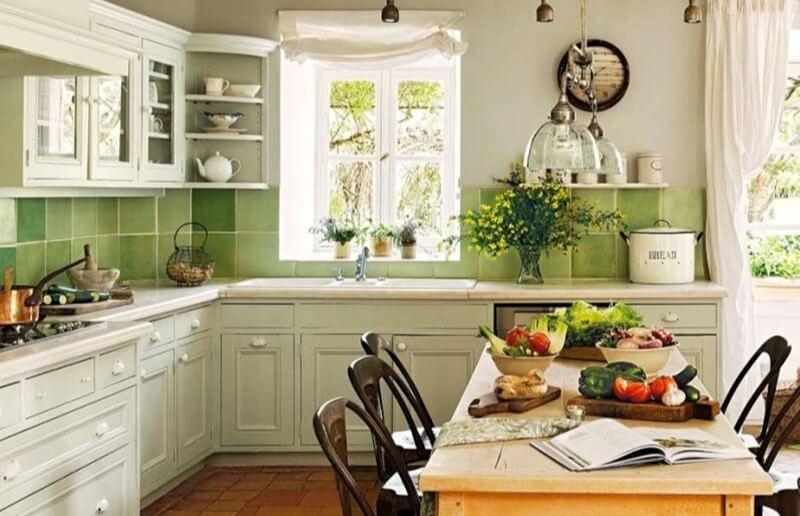 кухня прованс біла